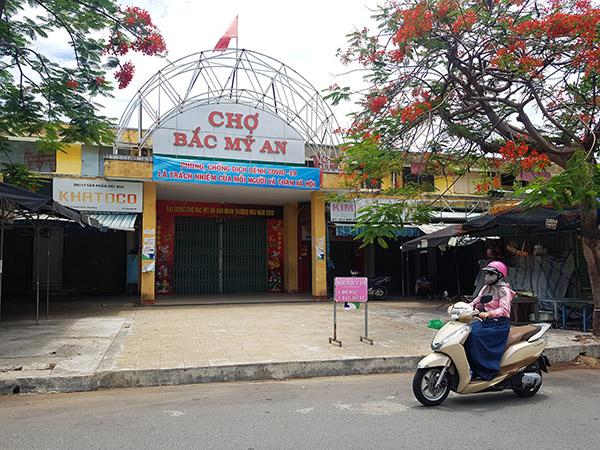Đà Nẵng phát thẻ vào chợ có mã QR Code cho các hộ dân