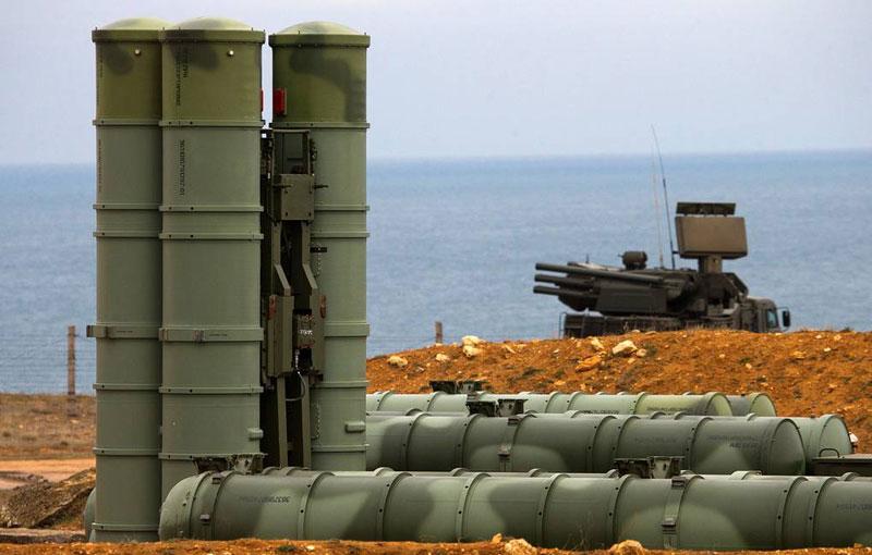 Hệ thống phòng không S-500. Ảnh: Sergei Malgavko / TASS.