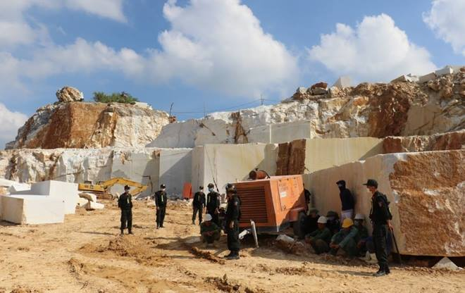 Nghệ An: Khởi tố giám đốc doanh nghiệp khai thác đá trái phép
