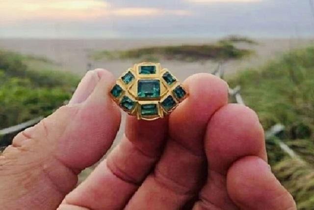 Chiếc nhẫn cổ của người Inca đẹp một cách hoàn hảo.