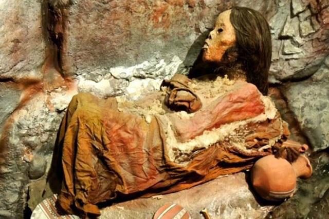 Xác ướp tiên nữ băng Inca