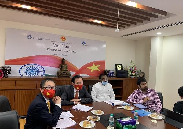 Ấn Độ muốn xây công viên dược phẩm tại Việt Nam