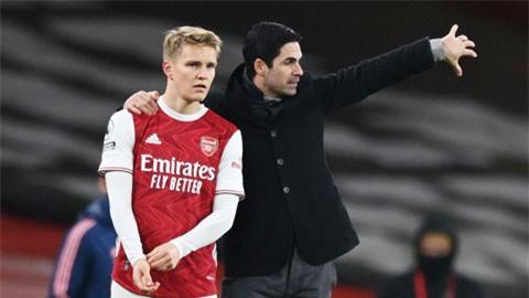 Arsenal vẫn còn cơ hội tái hợp Odegaard
