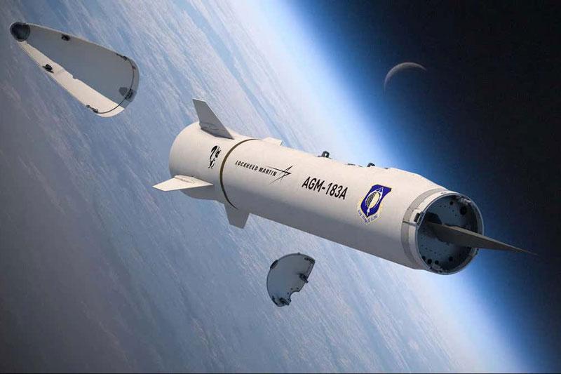 Mô phỏng phương tiện lướt siêu vượt âm tách khỏi vỏ tên lửa để hướng đến mục tiêu. Ảnh: Lockheed Martin