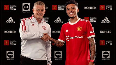 Sancho giúp Man United gia tăng quân số tuyển thủ Anh trong đội hình