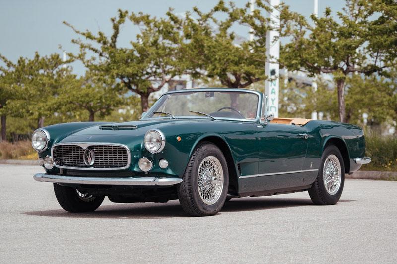 10. Maserati 3500 GT (1957 và 1964).