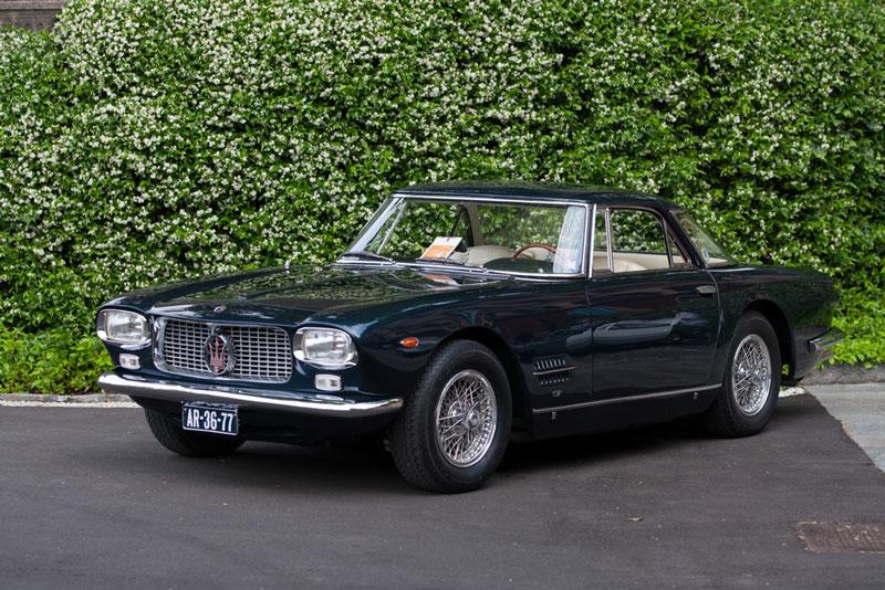 2. Maserati 5000 GT (1959-1965).