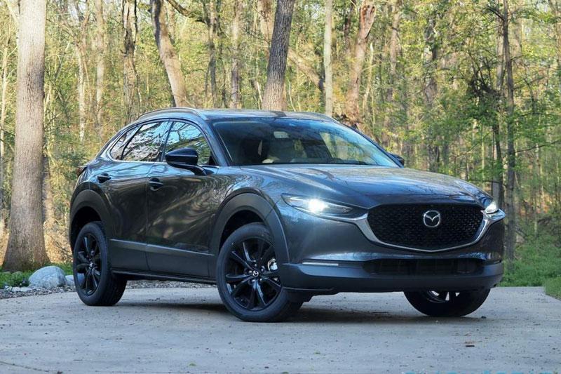 5. Mazda CX-30 2021 (giá khởi điểm: 23.450 USD, điểm tổng thể: 8,5/10).