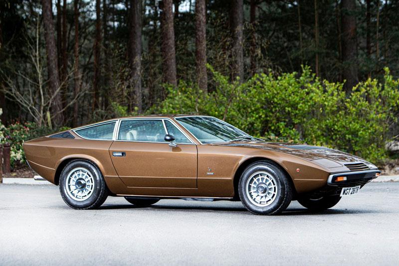 5. Maserati Khamsin (1974-1982).