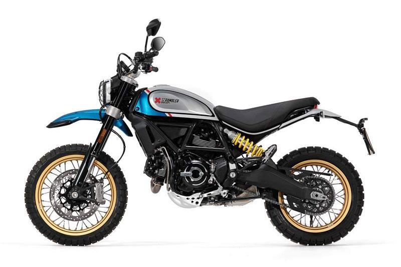 5. Ducati Scrambler Desert Sled (giá khởi điểm: 10.085 bảng).