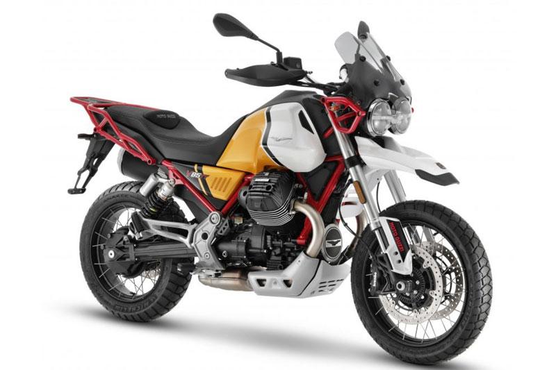 6. Moto Guzzi V85TT (giá khởi điểm: 11.200 bảng).
