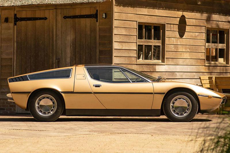 7. Maserati Bora (1971-1978).