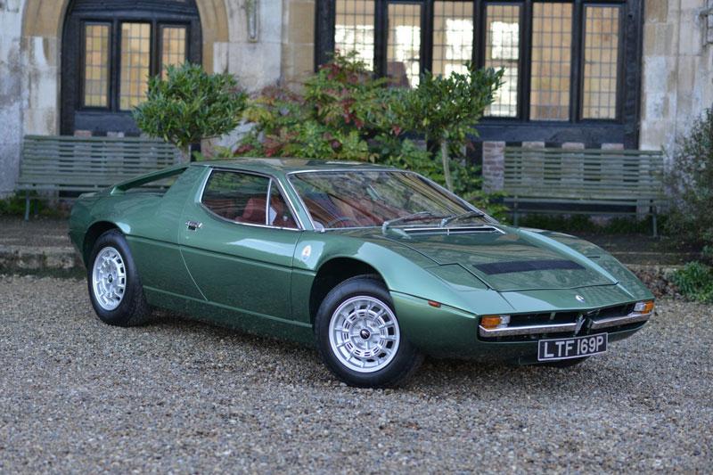 8. Maserati Merak (1972-1983).