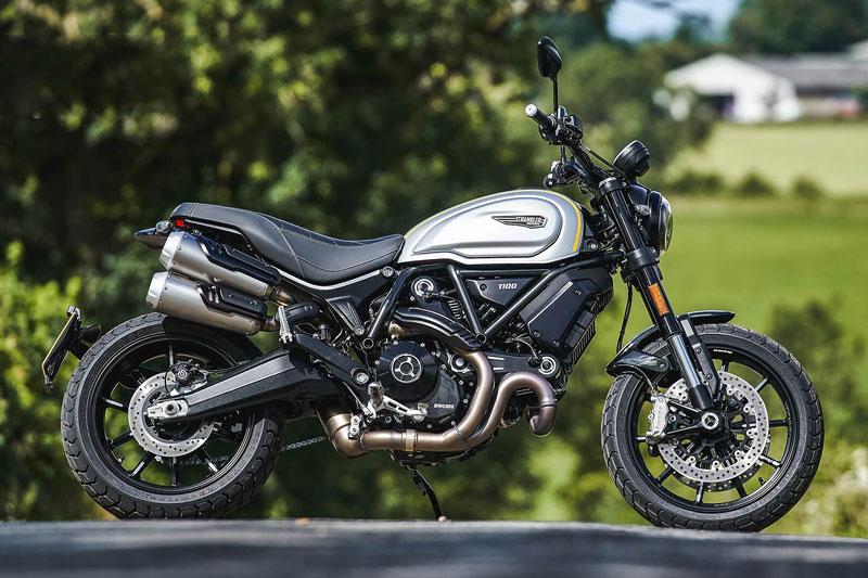 9. Ducati Scrambler 1100 Sport Pro (giá khởi điểm: 12.885 bảng).