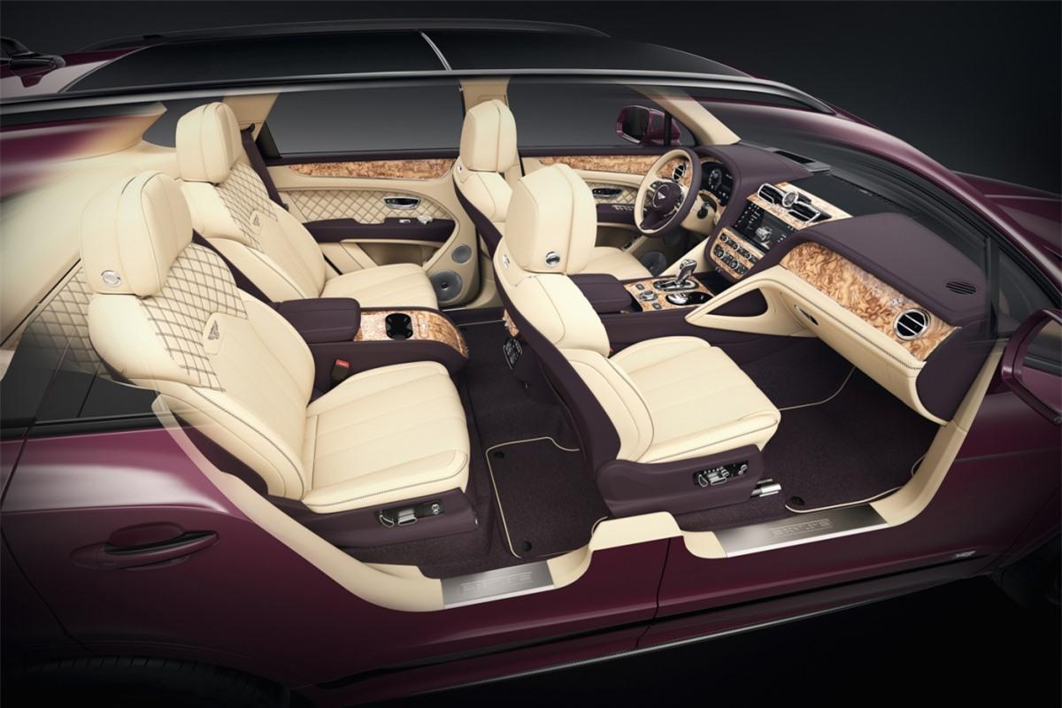 Chiếc Bentley cá nhân hóa thứ 1.000 là một chiếc Bentayga thế hệ mới của một khách hàng tại châu Âu. Người này đã lựa chọn lên đến hai tùy chọn cá nhân hóa dành cho nội thất của chiếc xe để nó trở nên đặc biệt nhất có thể.