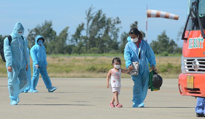 Ghi nhận các ca dương tính với SARS-CoV-2 là công dân được tổ chức đưa về từ TP Hồ Chí Minh