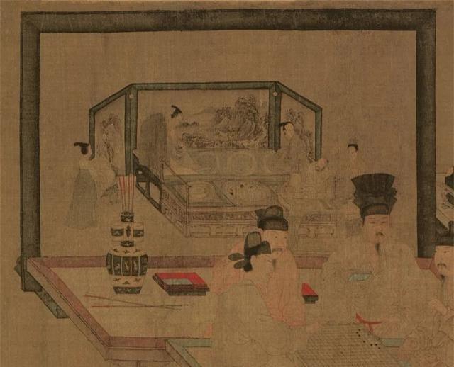 Phóng to 10 lần bức tranh cổ: Hậu thế ngỡ ngàng phát hiện bí mật quyền lực trên bàn cờ ngàn năm - Ảnh 3.