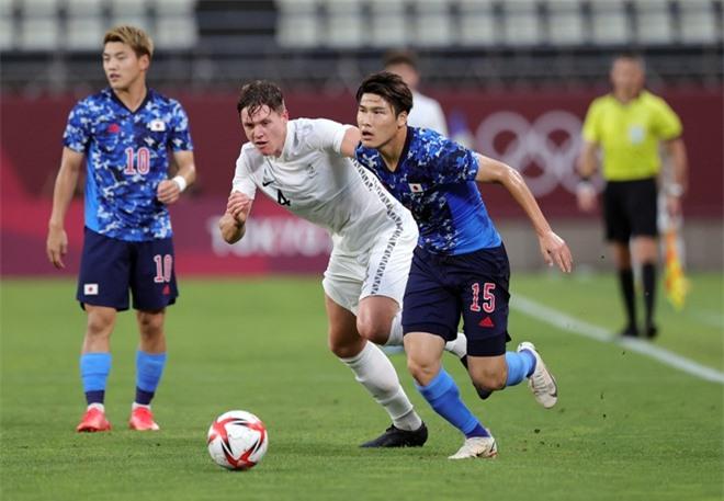 U23 Nhật Bản gặp rất nhiều khó khăn trước đối thủ