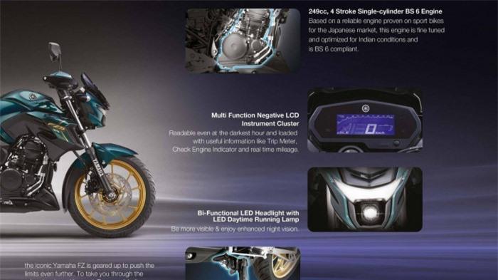 Yamaha FZ 25 phối màu xe đua giá 43,1 triệu đồng 2