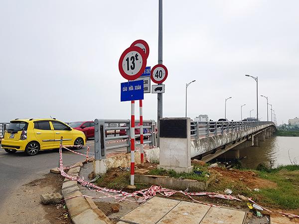 Cầu Hòa Xuân hiện trạng