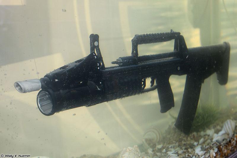 Báo Mỹ đánh giá cao lợi thế súng trường tấn công dưới nước của Nga