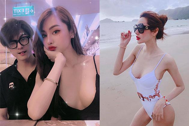 Bạn gái Lâm Vinh Hải tự tin khoe vóc dáng nóng bỏng, vòng eo 56 cm