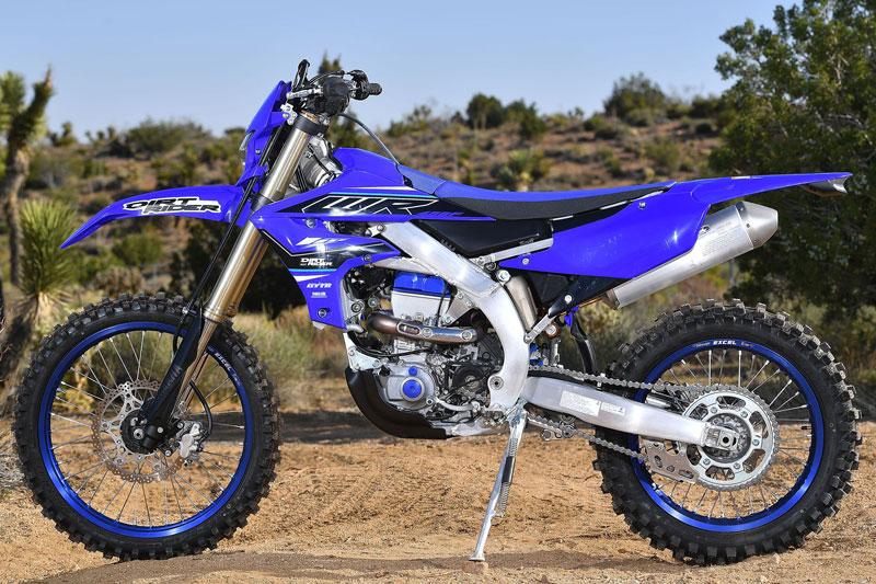 5. Yamaha WR450F.