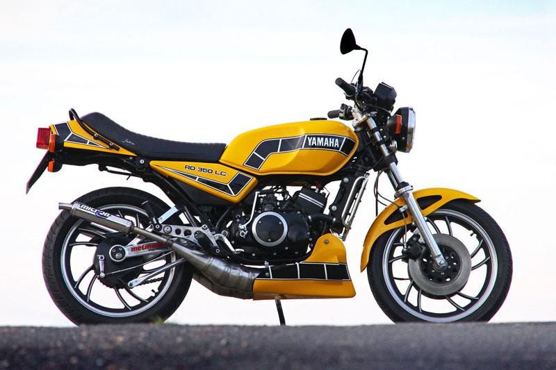 6. Yamaha RD 350.