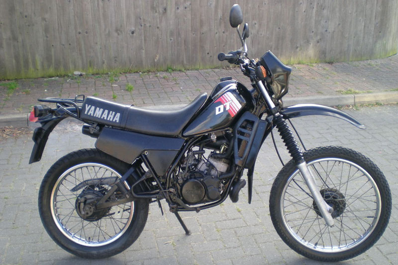 7. Yamaha DT 125.