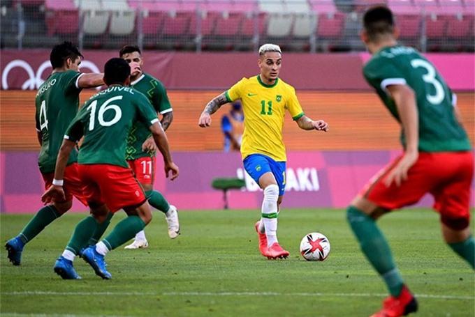 U23 Brazil đã giành quyền tham dự chung kết môn bóng đá nam