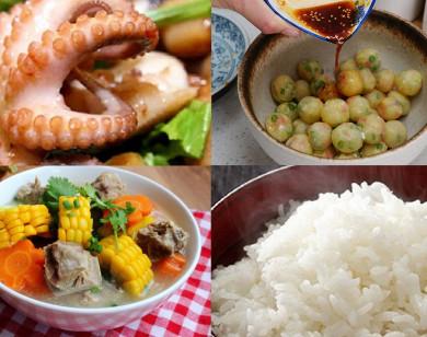 Thực đơn cơm chiều: 3 món ngon cơm