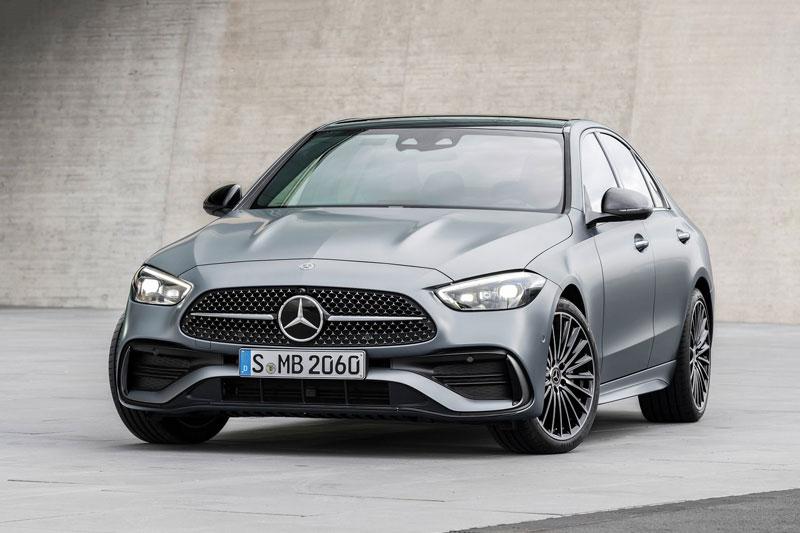 Mercedes-Benz C-Class 2022.