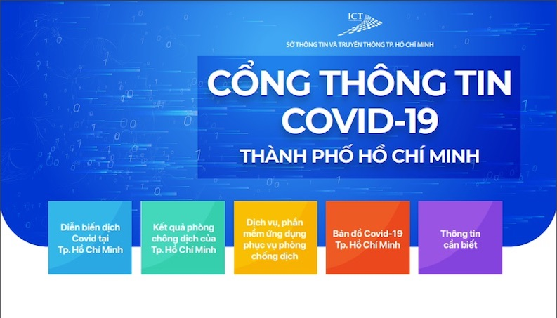 TP Hồ Chí Minh ra mắt Cổng thông tin COVID-19 hỗ trợ phòng chống dịch