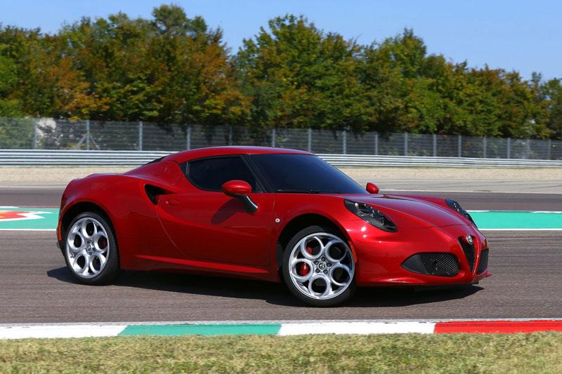 2. Alfa Romeo 4C/4C Spider 2013.