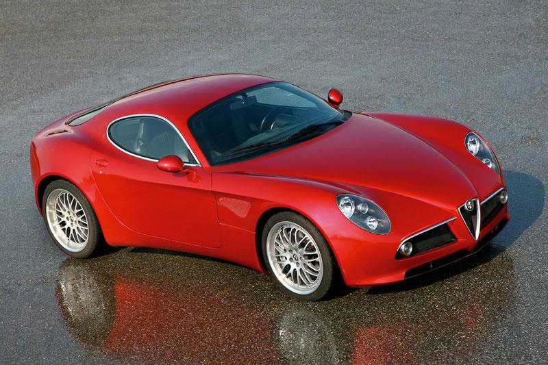 4. Alfa Romeo 8C Competizione 2007.