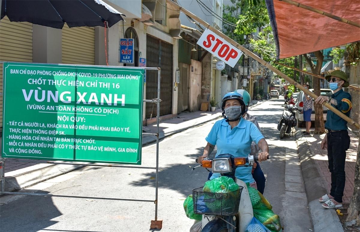 """Mô hình tự quản """"vùng xanh"""" đang xuất hiện ngày càng nhiều tại Hà Nội."""