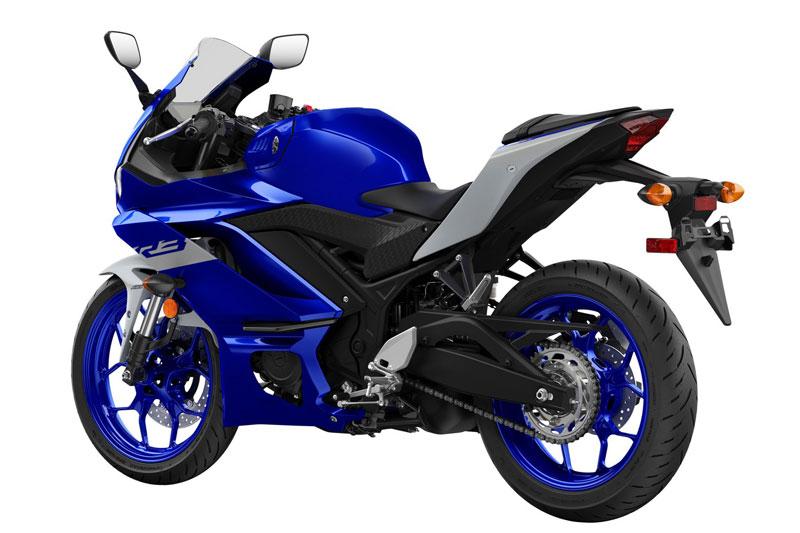 10. Yamaha YZF-R3.