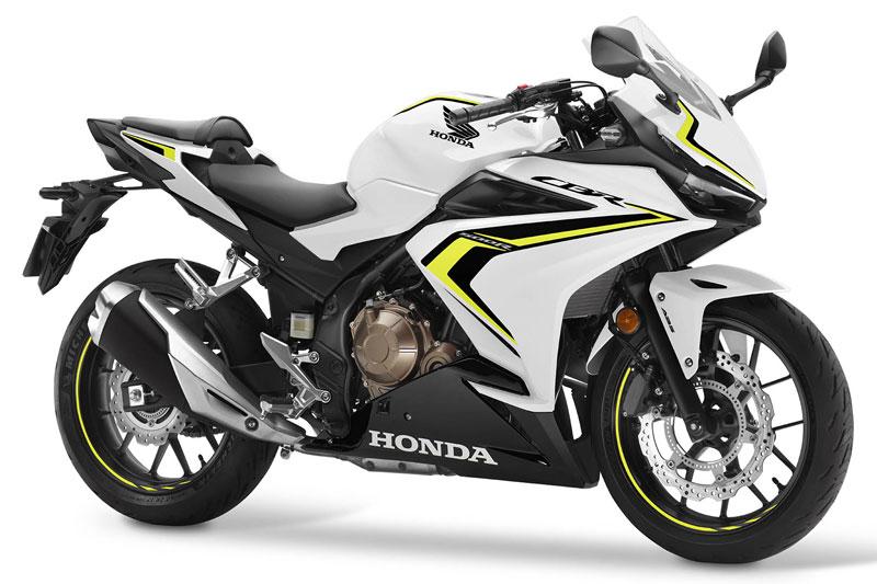 3. Honda CBR500R.