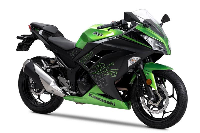9. Kawasaki Ninja 300.