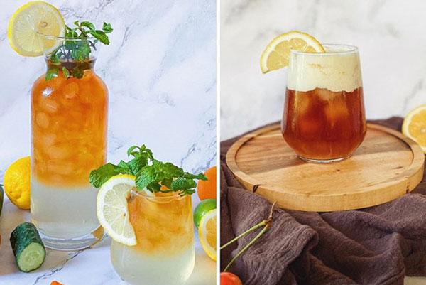 5 cách pha nước uống siêu ngon, mát lạnh cực hợp với ngày nắng nóng