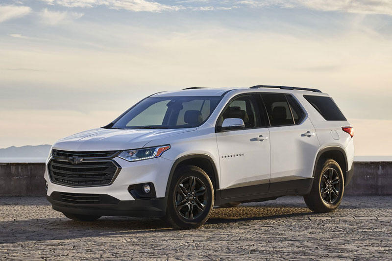6. Chevrolet Traverse 2021 (giá khởi điểm: 29.800 USD).