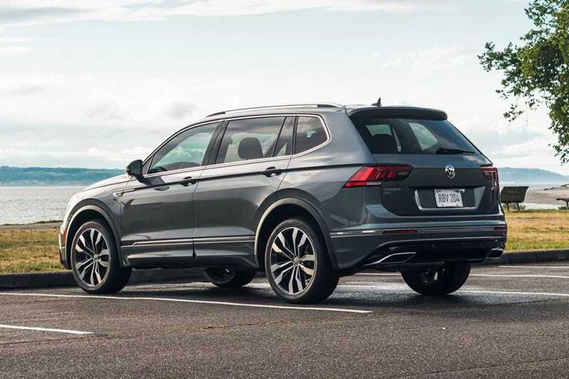 7. Volkswagen Tiguan 2021 (giá khởi điểm: 27.000 USD).