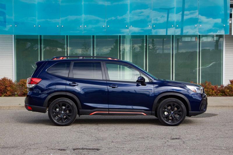 8. Subaru Forester 2021 (giá khởi điểm: 24.795 USD).