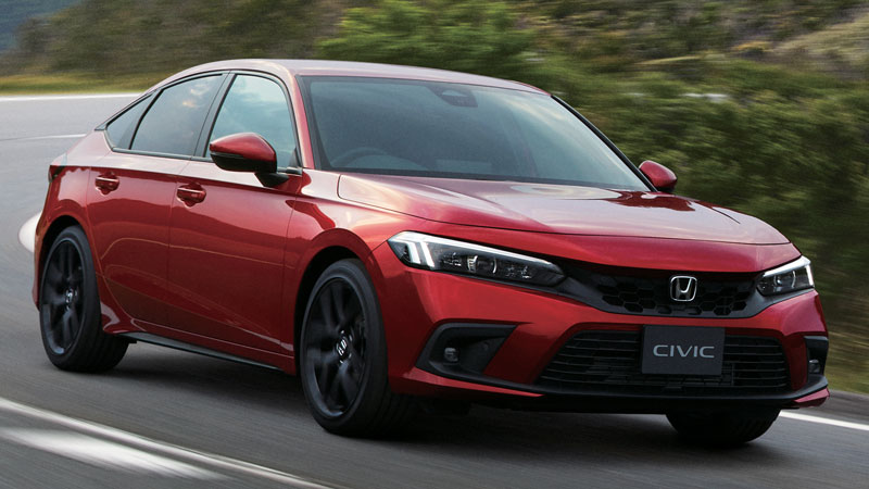Honda Civic Hatchback 2022.