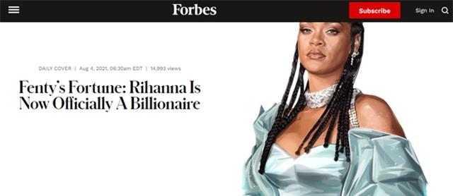 Rihanna chính thức trở thành tỷ phú USD: Nữ ca sĩ giàu nhất thế giới từng khuynh đảo giới thời trang rồi trở thành biểu tượng doanh nhân đáng ngưỡng mộ - Ảnh 1.