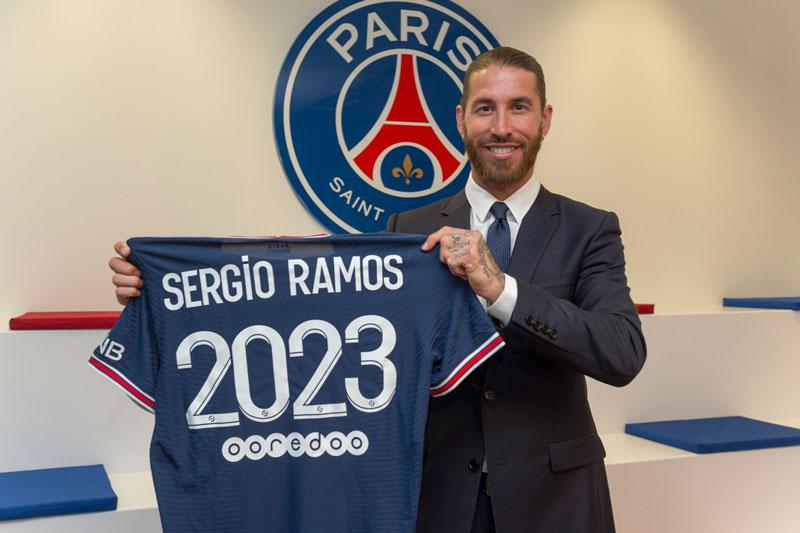 Trung vệ: Sergio Ramos.