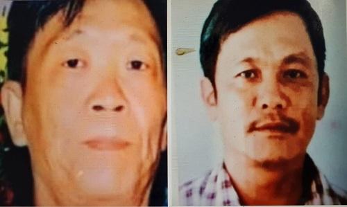 2 đối tượng: Võ Văn Kha và Trần Văn Phương đang bị truy tìm.