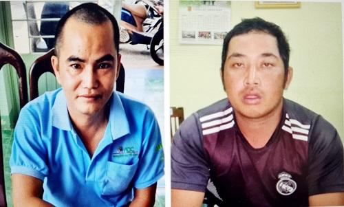 Bị can Hồ Tuấn Linh (tự Phong) và Nguyễn Văn Minh.