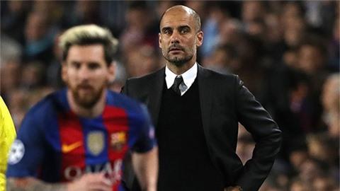 Guardiola lên tiếng về khả năng Man City mua Messi