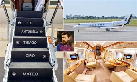 Không chỉ sở hữu tài sản kếch xù, Messi còn có thú chơi tốn kém như chuyên cơ, siêu xe...